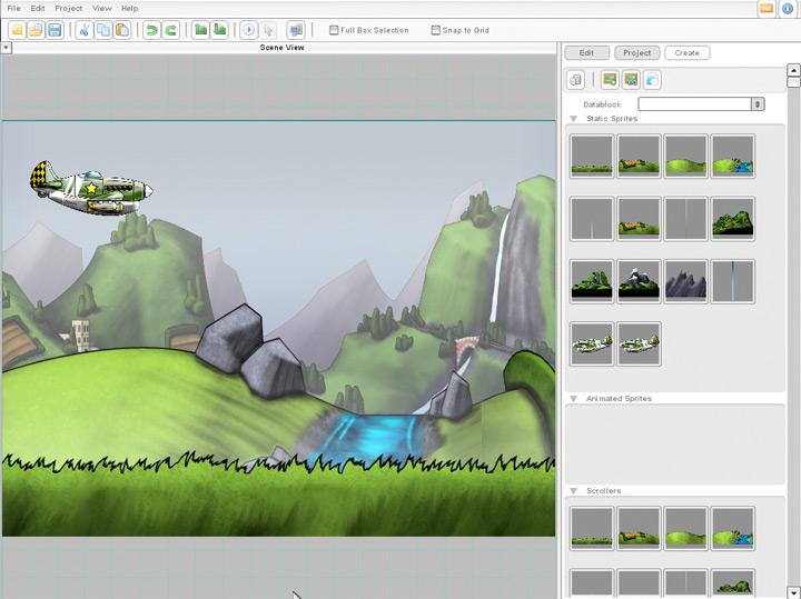 Tools for 2D games development