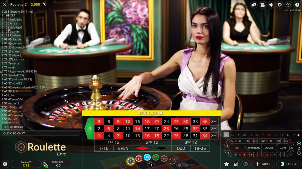 Is there a chance to win at online roulette?